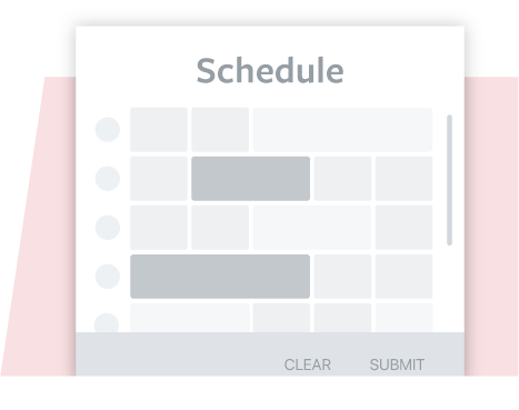 Rules-based scheduling